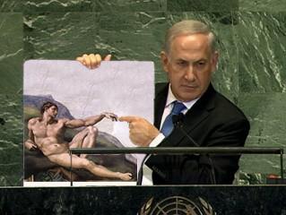 Image result for netanyahu bomb meme