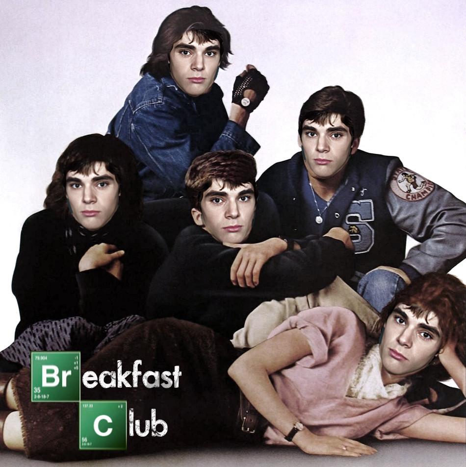 Walter Junior Breakfast Club 1334865488 walt jr loves breakfast know your meme