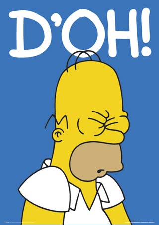 homer simpson doh d'oh know your meme