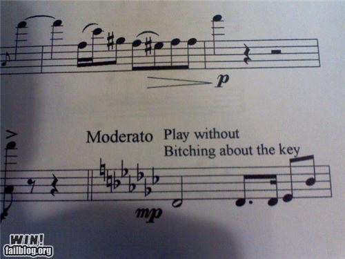 Funny Musician Meme : Funny sheet music annotations know your meme