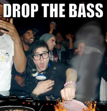 bassdrop drop the bass\