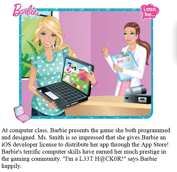 barbie i can be a computer engineer pdf