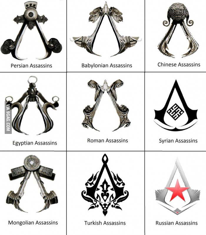 assassin 39 s creed logo know your meme. Black Bedroom Furniture Sets. Home Design Ideas