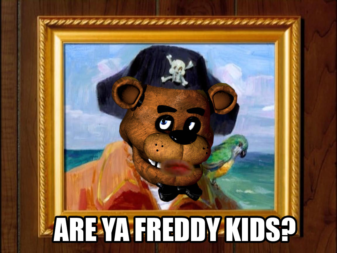 Freddy fazbear know your meme
