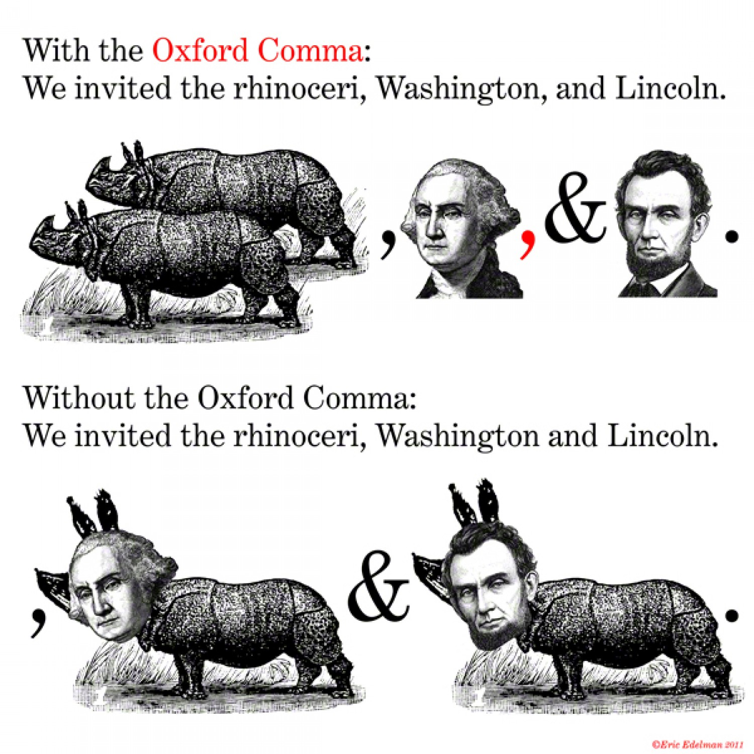 Image result for oxford comma meme