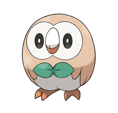 rowlet rowlet's roundness know your meme