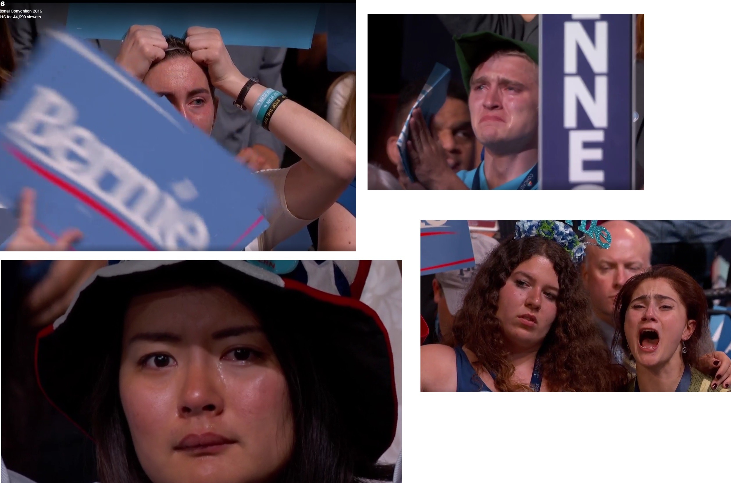 jebL11 hillary clinton know your meme,Hillary Supporters Crying Meme