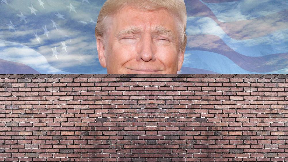 Funny Trump Wall Meme : Donald trump s wall know your meme