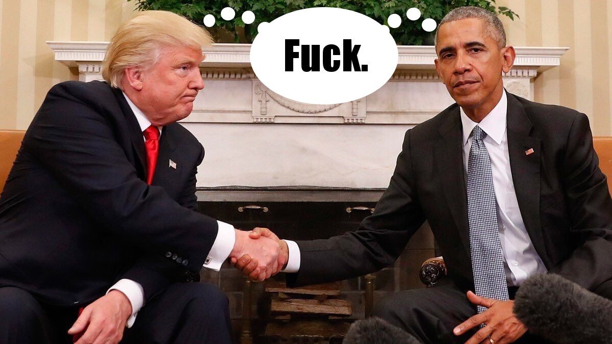 ikpbqo4 obama and trump shaking hands know your meme