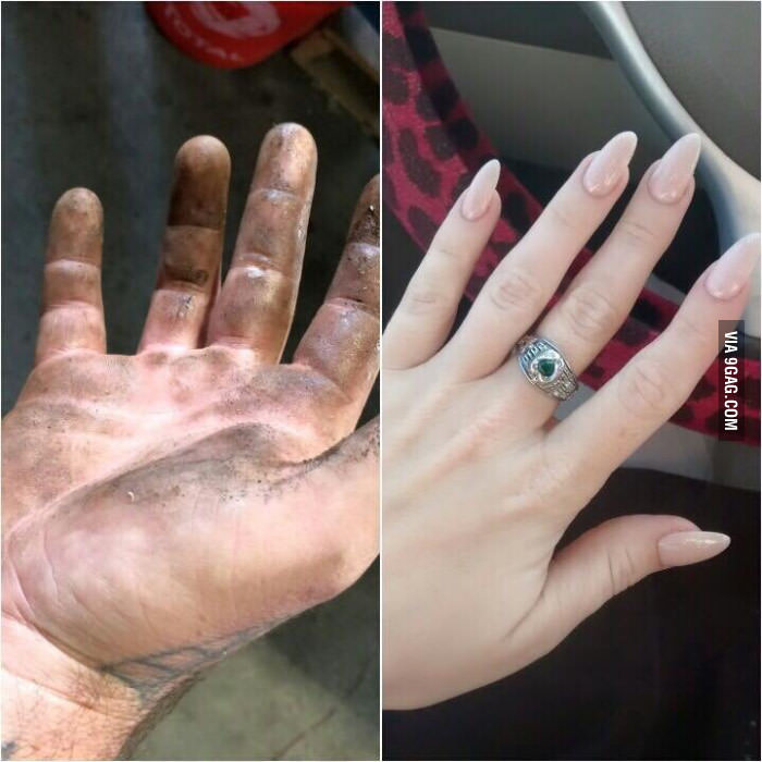 My Hands Look Like This | Know Your Meme