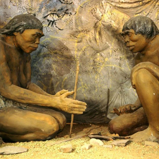 Rare Picture Of Men Discovering Fire Know Your Meme