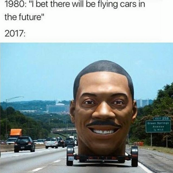 17800392_1901857486692764_7143641157109925115_n i bet there will be flying cars in the future know your meme