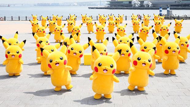 pikachu danse