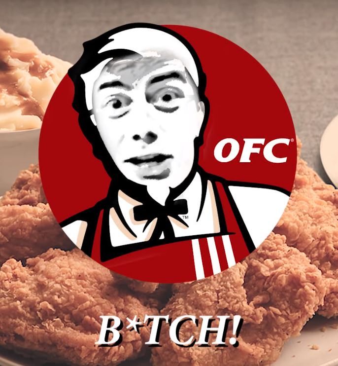Capture ohio fried chicken b*tch know your meme