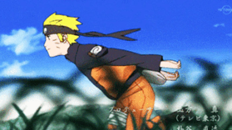 Naruto Run | Know Your Meme
