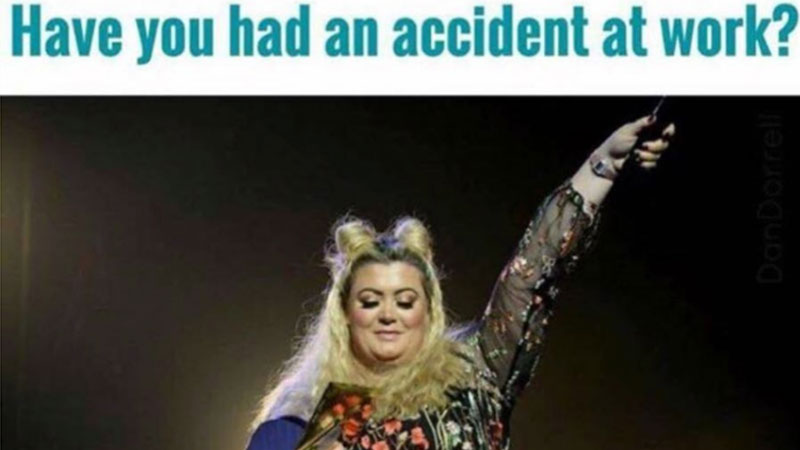 gemma gemma collins' stage fall know your meme