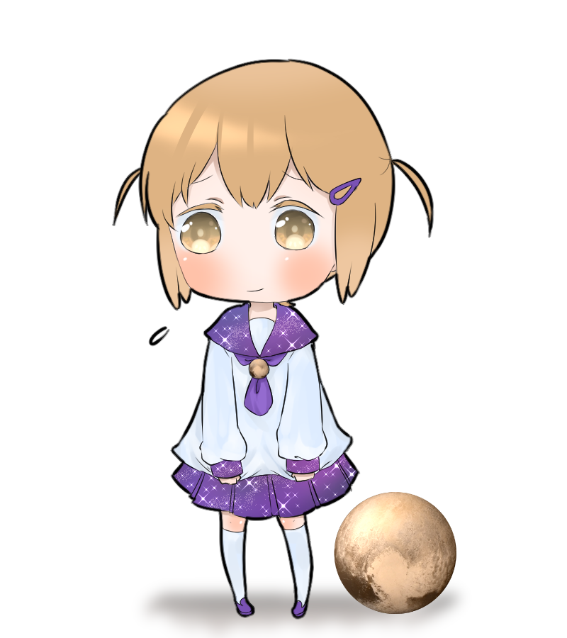Pluto-chan | Know Your Meme