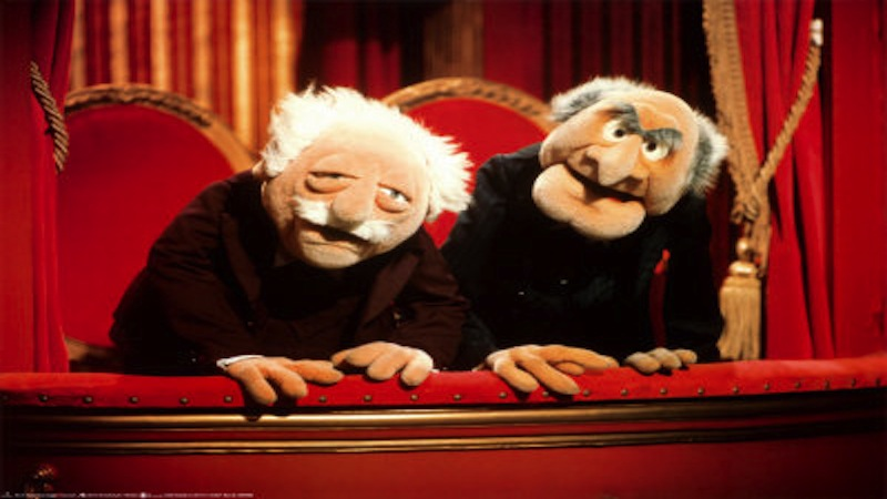 statler and waldorf know your meme