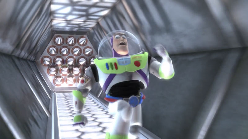 Buzz Lightyear Outruns Spikes Know Your Meme