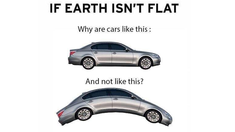 If The Earth Isn T Flat Why Don T Shoes