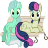 Sitting Lyra