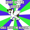 X? Call Josef the Alicorn