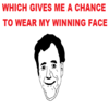 Jeremy Clarkson's Winning Face