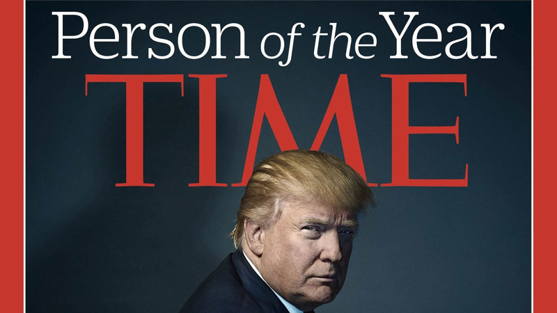 """Donald Trump Is Time's """"Person of the Year"""""""