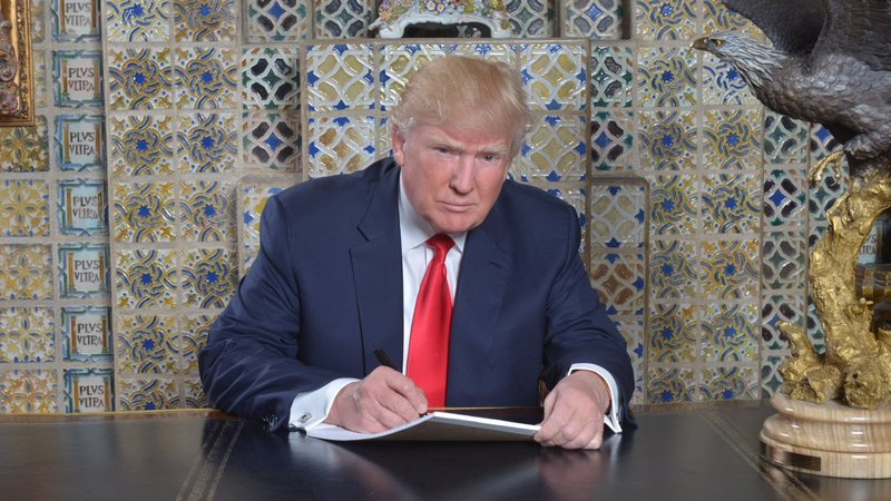 Twitter Mocks Trump's Inaugural Address Photo