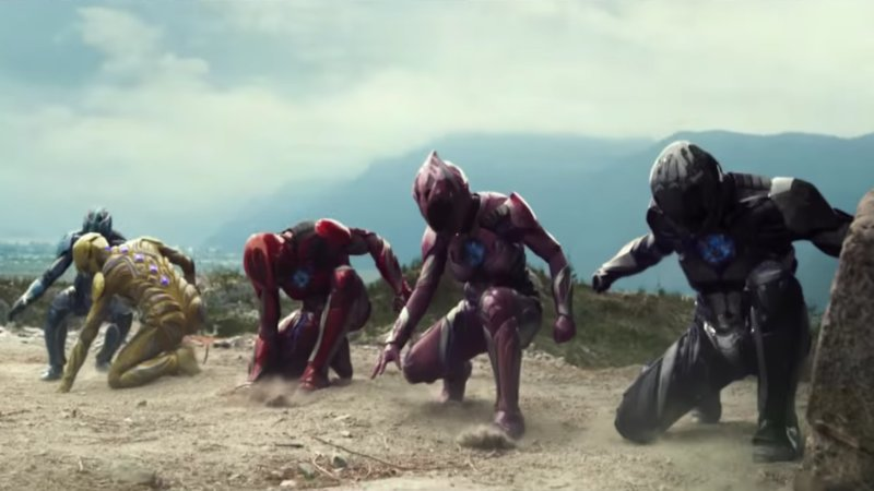 This Power Rangers Trailer Sure is... Something
