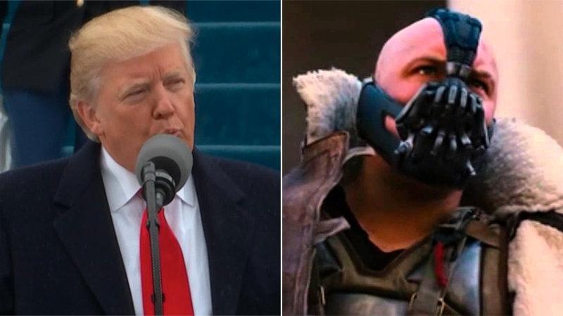 Trump Echoes Bane's Rhetoric During Speech