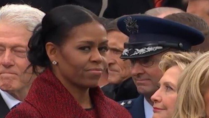 Michelle Obama Summarized the Inauguration