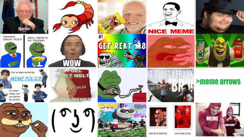 Timeline Of Ironic Memes