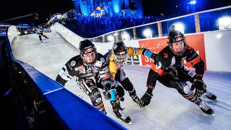 Welcome to the World of Ice Cross Downhill