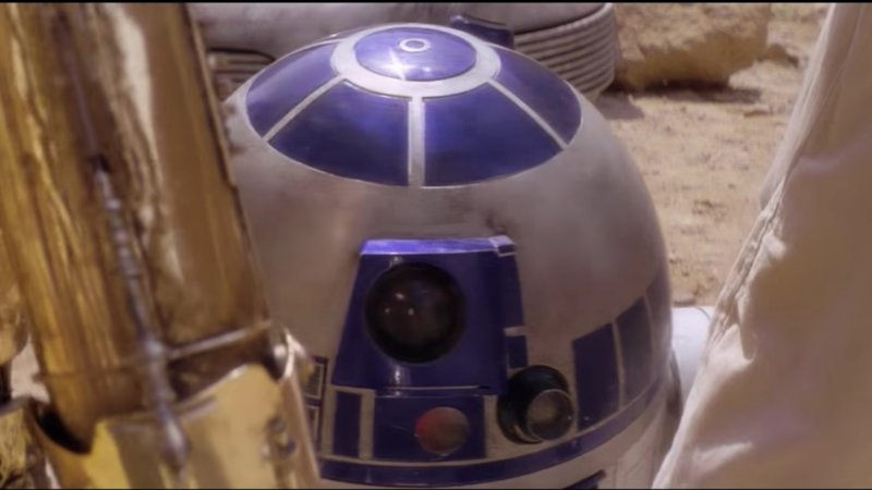 R2D2 With a Voice