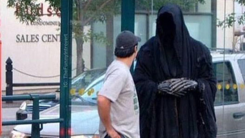 """Grim Reaper"" Meme Takes Off on Black Twitter"