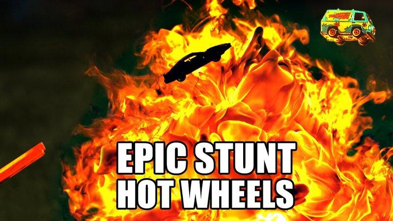 Hot Wheels Race In Slow Motion Is 2 Furious