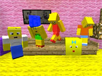 Minecraft: The Simpsons Opening
