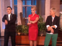 Psy Teaches Britney Spears His Moves