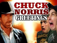 Greetings From Chuck Norris