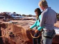 Boyfriend Pushes Girlfriend Off a Cliff