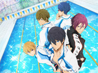 Swimming Anime Will Premiere in July