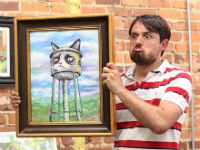 The Grumpy Cat Art Project