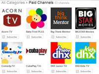 YouTube Launches Paid Subscriptions
