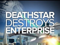 Death Star Vs. USS Enterprise