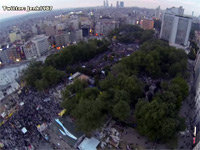 A Drone's View of Gezi Park Protests