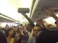 Stranded Airline Passengers Sing R. Kelly