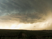 Supercell Storm Time Lapse