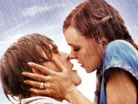 """""""The Notebook"""" Rain Kiss in Real Life"""