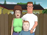 King of The Hill Intro in 3D